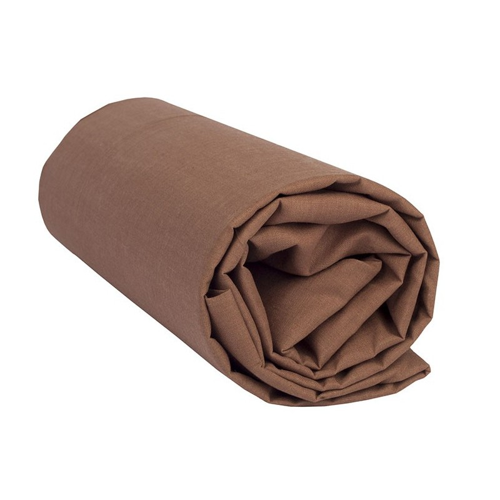 "Sábana Bajera Lisa ""Marrón Chocolate"""
