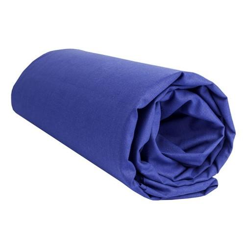 "Sábana Bajera Lisa ""Azul Oscuro"""