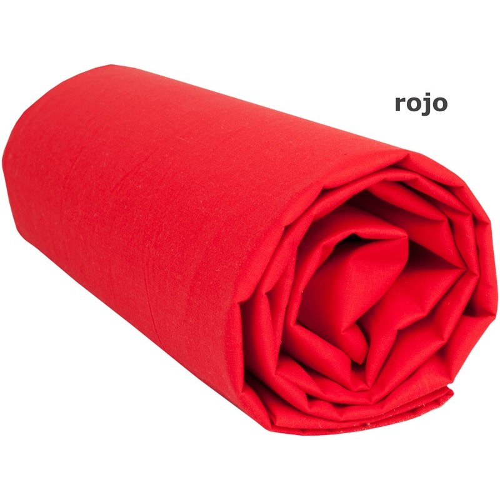 """Funda de Cojín Cuadrante """"Rojo"""" - 55 x 55 cm"""