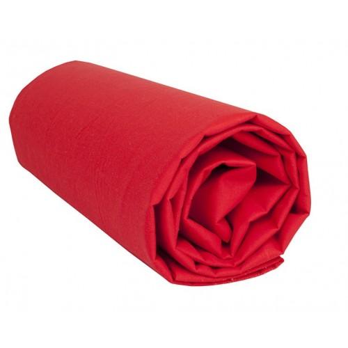 """Sábana Bajera Lisa """"Rojo"""""""