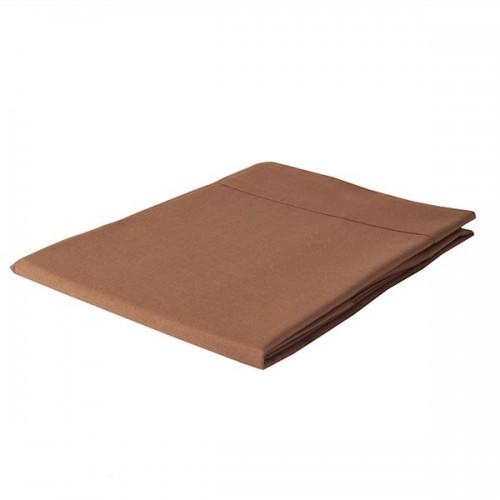 """Sábana Encimera Lisa """"Marrón Chocolate"""""""