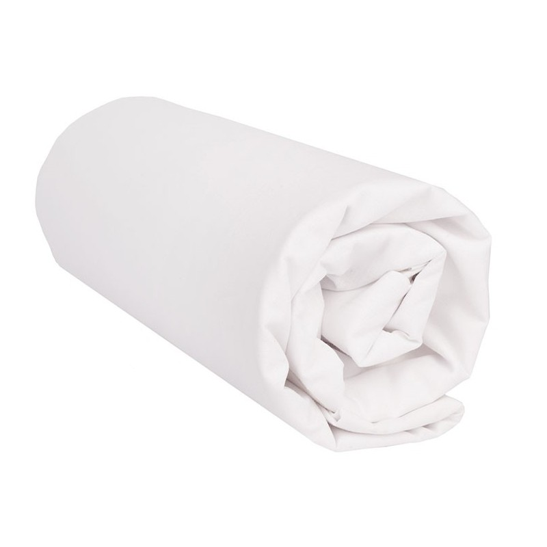 "Sábana Bajera Lisa ""Blanco"" - Medida 60 x 210 cm"