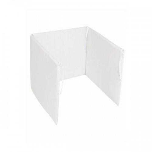 """Chichonera """" Blanca""""  - Cuna 60 x 120 cm"""