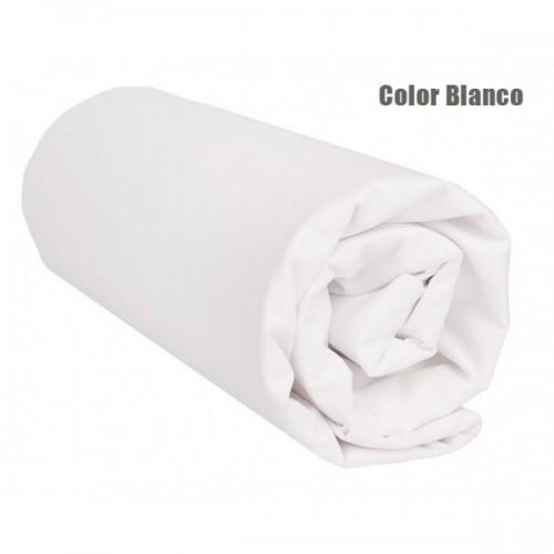 "Sábana Bajera Lisa ""Blanco"" - 105x220x27 cm"