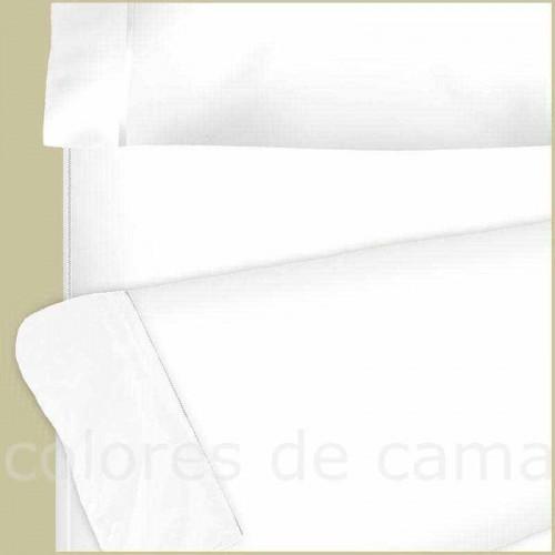 """Sábana Bajera con Cremallera """"Blanco"""" 100 Algodón"""
