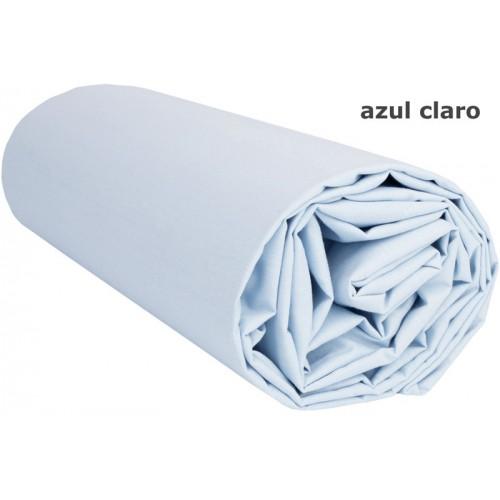 Edredón Ajustable Azul Claro 300 gr/m2 - Media: 90 x 190 cm