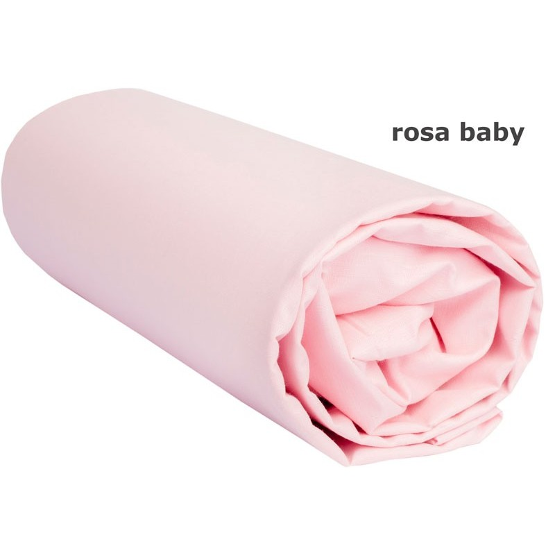 Funda de Cojín Rosa Baby con Cremallera - 65 x 65 cm