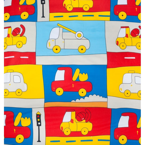 "Funda nórdica  ""Truck Beige"" - 70x160 cm (120 x 160 cm)"