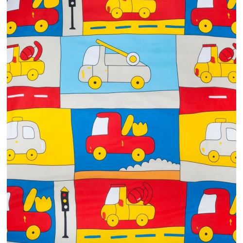 """Juego de sábanas """"Truck Beige"""" - 70 x 160 cm(120 x 180 cm)"""