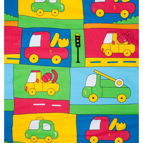"Funda de Almohada ""Truck Amarillo"""