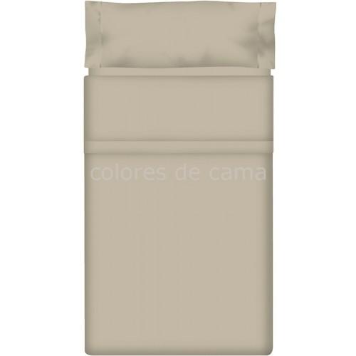 Juego de sábanas Lisas GRIS CLARO - 3 Piezas