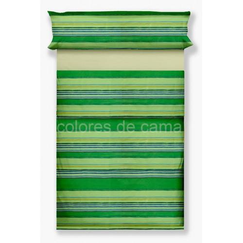 """Juego de sábanas """"Lola Verde"""" - 3 Piezas"""