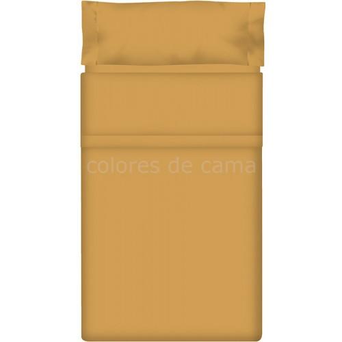Juego de sábanas Lisas ARENA - 2 Piezas