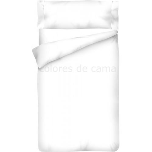 """Funda nórdica Blanco 100 """"Algodón"""" - 2 Piezas"""