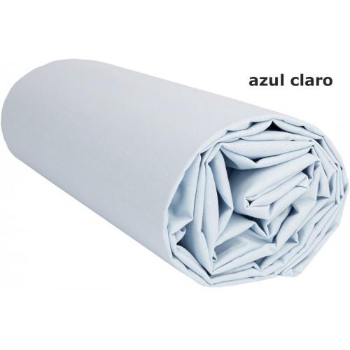 """Juego de sábanas Lisas """"Azul Claro"""" - 280 X 290 cm"""