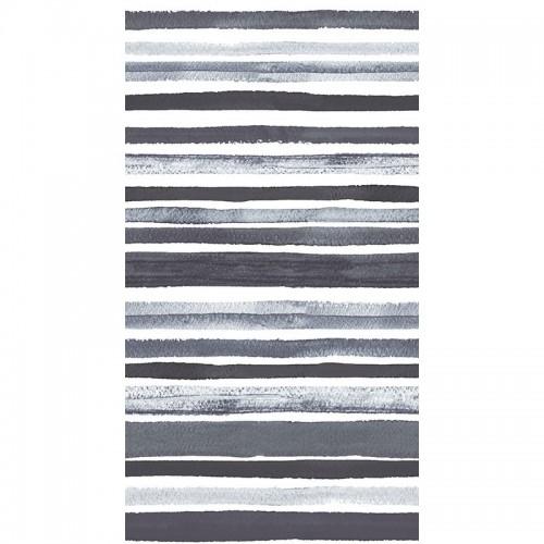 Funda de Cojín TRACED GREY - 30 x 50 cm - Con Cremallera
