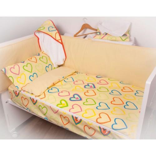 Bolso maternal cambiador A Dormir Cuore Amarillo